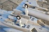 밀린 360 도는 이중으로 해 분사구 현상금 사냥꾼 전기 RC 비행기의 방향을 바꾼