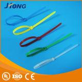 Serre-câble auto-bloqueur en plastique de PA du nylon 66