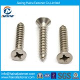 위쪽을 넓힌 Head 또는 Pan Head /Truss Head Cross Recessed 또는 Phillip Machine Screw/Stainless Steel Tapping Screw