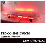 Indicatori luminosi liberi della polizia di colore rosso LED della cupola (COLORE ROSSO di TBD-GA-810C-90CM)