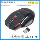 재충전용 High Dpi 7D LED Light Wireless Computer Gaming Mouse