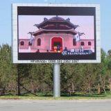 Schermo di visualizzazione impermeabile esterno del LED della parete P10 della Cina video