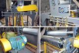 Positionnement de soufflement de machine de film à deux fins de HDPE-LDPE