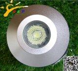 Het kleine LEIDENE Ondergrondse Licht van de Binnenplaats met Zuiver Aluminium (jp82211-h-ZOALS)