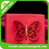 Nueva caja de papel duro roja del diseño usada en boda (SLF-PB031)