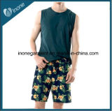 Os Mens de Inone W08 nadam Shorts ocasionais da placa das calças curtas