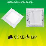 свет панели 9W квадратный СИД с сертификатом Ce GS