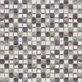 Knistern-Glasmosaik des Eis-15*15/Mischungs-Marmorsteinmosaik