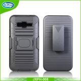 Caisse de portable de TPU+Plastic pour Samsung J320/J3