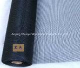 Black Grey Fiberglass Insect Window Screen Netting