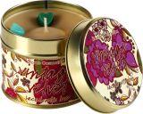 ふたと贅沢なギフトとして純粋な大豆のワックスの蝋燭