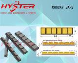 Barres blanches de Chocky d'usure de fer de Domite pour les outils s'engageants de prise de masse