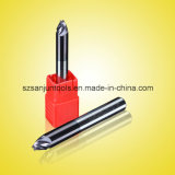 Taladro de carburo de tungsteno de las herramientas que muele