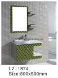 Petit Module de salle de bains d'acier inoxydable de type avec le Module de miroir