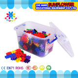 Los juguetes intelectuales de los juguetes de los bloques huecos, escritorio plástico colorido bloquean el juguete