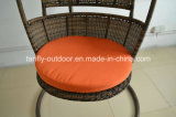 Muito Popular Pátio Garden Wicker Swing Hanging Chair