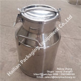 25 litres Sanitary Stainless Steel Transport Milk Barrel pour Milk