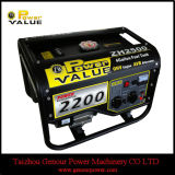 5kw 100%년 Copper Wire Three Phase AC Gasoline Generator