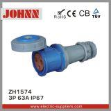 Conetor da qualidade de IP67 3p 63A grande para industrial