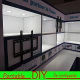 Cabine modulaire verte d'exposition de Materials&Reusable