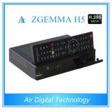 Hevc/H. 265 암호해독기 Zgemma H5 DVB S2 DVB T2&C