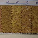 Couro sintético do plutônio da grão nova da cortiça do projeto 2016 (HSTC036)