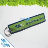 高品質デザインロゴの刺繍Keychain