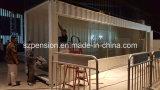 Sitio del envase modificado moderno cómodo al aire libre de la venta grande casa prefabricados/prefabricados de la sol/