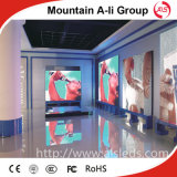 Ultra hohe Präzision P10 farbenreiche video Innen-LED-Bildschirmanzeige