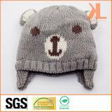 Шлем медведя 100% акриловый связанный для младенцев