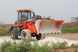 Log Grapple를 가진 2 톤 Front Bucket Wheel Loader