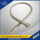 Umsponnenes Flexible Metal Pipe mit Thread Ende
