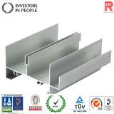 Perfil de aluminio/de aluminio de la protuberancia para la puerta de la ventana del OEM (RAL-208)
