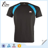Mens-Nylon-Polyester-Kleidungs-Eignung-T-Shirt