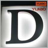 Водоустойчивое акриловое письмо алфавита помечает буквами Back-Lit