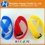 Cintas plásticas de travamento automático materiais de nylon Eco-Friendly de Velcro