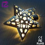 Indicatore luminoso della decorazione del LED, indicatore luminoso a pile, indicatore luminoso della stringa della stella