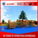 옥외 아이 또는 실내 운동장 활주 최신 인기 상품 취학 전 장비 위락 공원 나무로 되는 시리즈 HD16-167A의 주문을 받아서 만들어지는 공장