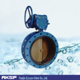 "SS Disc 4 "" 12flange Hole Concentric Butterfly Valve"