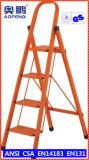 Telescopische Ladder van het Aluminium van de Uitbreiding van de Kruk van de Stap van het Huishouden van het staal de Uiteindelijke (ap-1324)