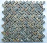 Mattonelle di mosaico di marmo per la decorazione della parete