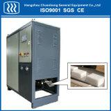 Efeito de estágio claro da máquina do granulador do gelo seco