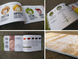 Livret de papier coloré en gros d'impression avec le prix meilleur marché