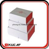 Caja de empaquetado plegable magnética abierta del regalo de la impresión cuatro del plano de encargo de los colores