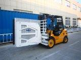 3ton Diesel Forklift com Carton Clamp