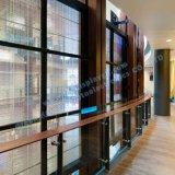 Visualizzazione di LED trasparente di vetro esterna di alta luminosità P8