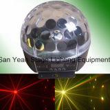 Fase che illumina l'indicatore luminoso di effetto della sfera di cristallo