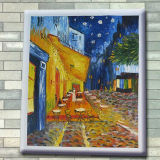 Het Schilderen van de douane het Decoratieve Abstracte Schilderen van het Canvas van het Olieverfschilderij DIY
