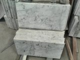 Bianco Cararra Marble Tile per Bathroom Flooring