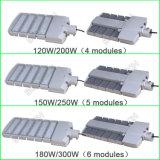 50W 100W 150W 200W 250W 300W Farola LED con LED CREE y MeanWell Conductor